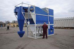 Зерноочистительное оборудование - сепаратор САД-100 с циклоном