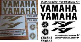 2005 Yamaha R1 decal sticker kit