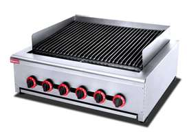 3 BURNER GAS CHARGRILL