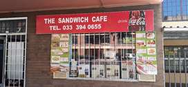 Sandwich cafe shop