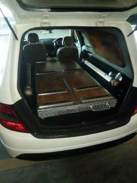 W 204 funeral  vehicle