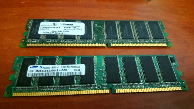 Оперативная память 512м mb,DDR1,2 шт в отличном рабочем состоянии Одесса - изображение 2