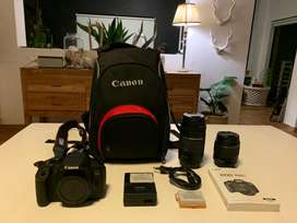Canon 700D Twin Lens Bundle
