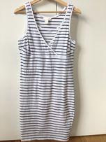 Sukienka dla karmiącej H&M Mama do karmienia wyprawka lato