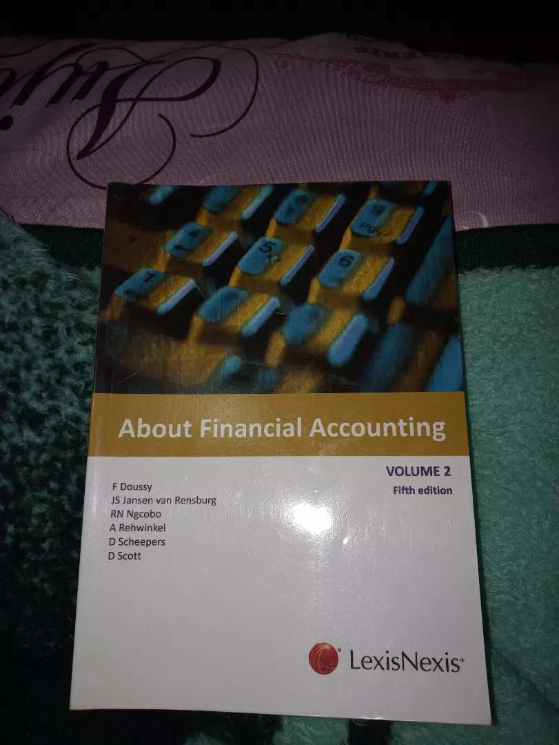About Financial Accounting Volume 2 (5th edition) 0