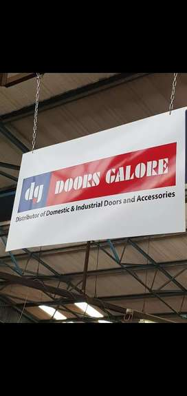 Garage doors and roller shutters + spares