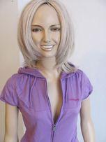 bluza fitness z kapturem fioletowa LAGEAR sportowa