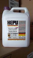 Антифриз концентрат HEPU G 12 plus -80°C фиолетовый (5 литров).