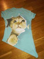 Bluzeczka z kotkiem