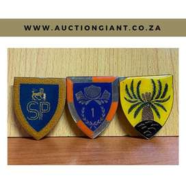 AUCTION: Military Shoulder Flashes