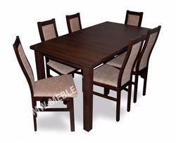Zestaw PIREUS Stół Rozkładany + 6 Krzeseł PRODUCENT! Tanio