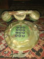 Телефон из натурального камня оникс