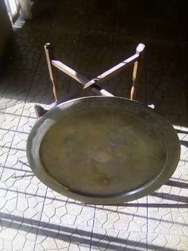 Antique brass table for sale