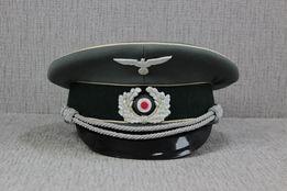 Niemiecka Czapka Oficera Wehrmachtu III Rzeszy