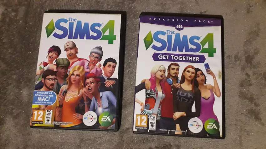 *NEW* THE SIMS 4 AND THE SIMS 4 GET TOGETHER FOR SALE