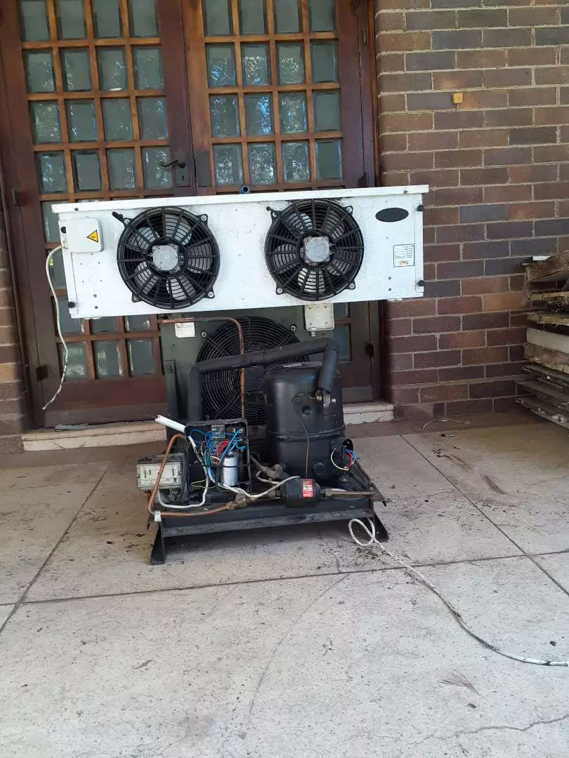 2,5hp coldroom unit and blower for sell 0