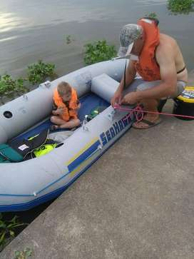 Seahawk inflatable boat