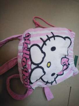 Hello kitty bag and towels in one