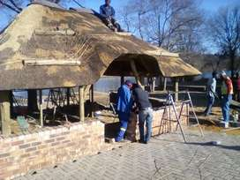 Thatching lapas roofs