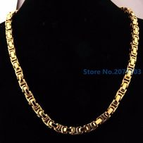 pozłacany łańcuszek+pozłacana bransoletka,14k,585,złoto,cc,armani,yes