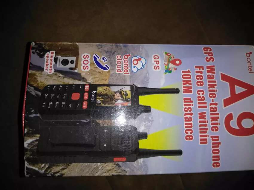 BONTEL A9 WALKIE TALKIE DUAL SIM PHONE ORIGINAL 0