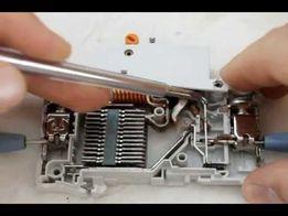 Перепакованный, переделанный автомат автоматический выключатель.