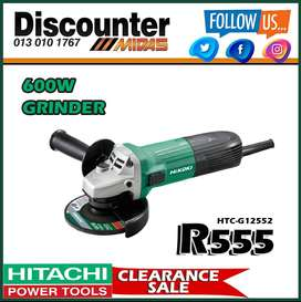 600W Grinder ONLY R555 at Discounter Midas!