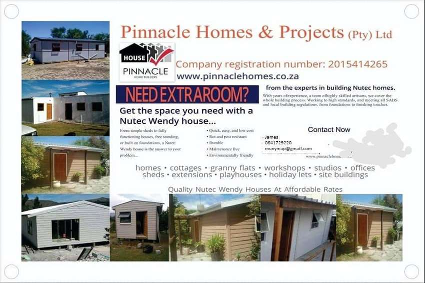 Nutec and Wendy houses for sale 0