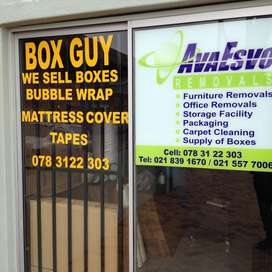 AvaEsvo Furniture Removals and Packaging Supply in Store