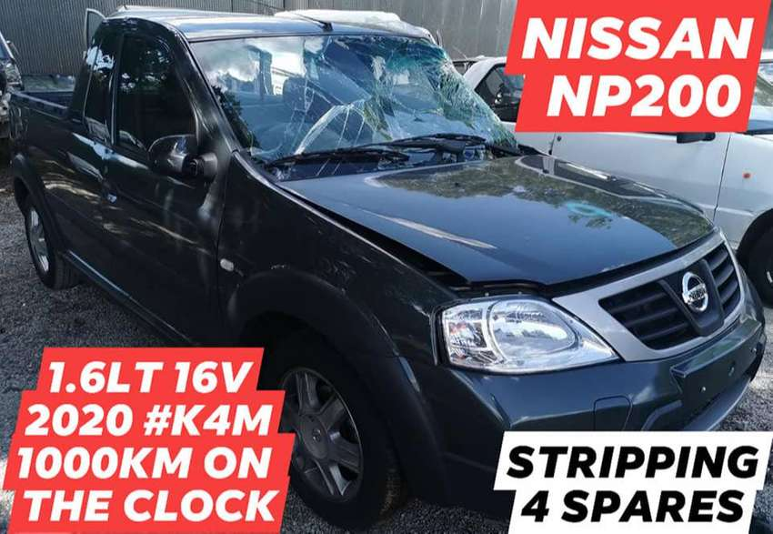 NISSAN NP200 1.6LT 16V 2020 #K4M 1000KM ON THE CLOCK STRIPPING FOR SPA 0