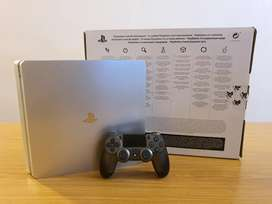 SILVER 1TB PS4 - LIMITED EDITION!