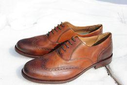 Туфли, броги, дерби ECCO 42, 46р. Оригинал. Кожа