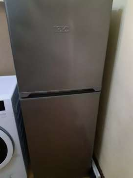 KIC Metallic Combi Fridge Freezer