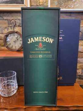Jameson Triple Distilled Limited Reserve 18 Year Old Bottle