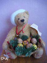 Мишка Hermann Apples and Nuts Bear ( лимит. выпуск, коллекц.)