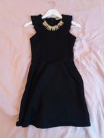 Czarna sukienka Pull&Bear