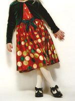 Sukienka z bolerkiem z USA 4-5 lat Bonnie Jean ŚWIĘTA wysyłka gratis g