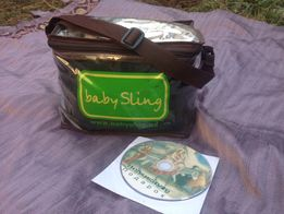 Слинг на кольцах babySling/ лён