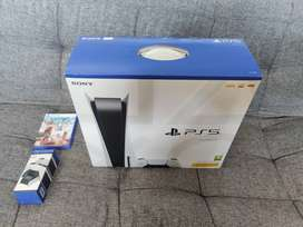Sony playstation 5 1tb ssd disc version a week old as good as new