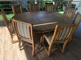 Dining set with matching side board