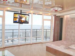 Лучшие апартаменты в Мост Сити. Центр. Балкон,вид реку. Реальные фото.