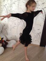 Тренировочный костюм для бальных танцев р-р146/152 цена390гр