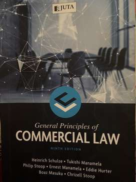 General Principles of Commercial Law 9th edition