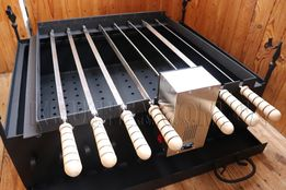 Барбекю - Мангал для барбекю с электроприводом