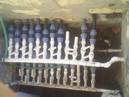 Кондиционирование и отопление тепловым насосом (геотермальный контур)
