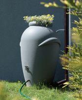 Zbiornik BECZKA na wodę DESZCZÓWKĘ deszczownica 360L + DONICZKA!