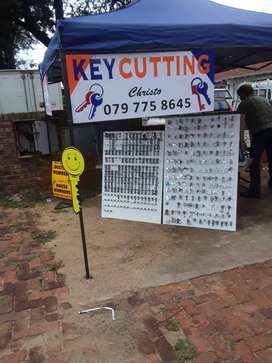 Complete Key Cutting Business For Sale