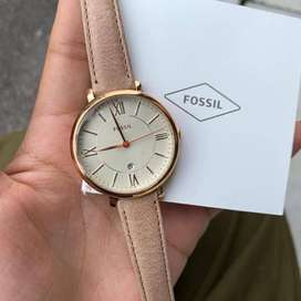 Fossil Rose Gold Quartz Watch - New