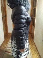 Зимний женский пуховик. Наполнитель ПУХ.