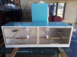 Bird breeding cages